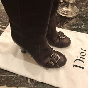 FLASH SALE - Authentic Christian Dior Boots